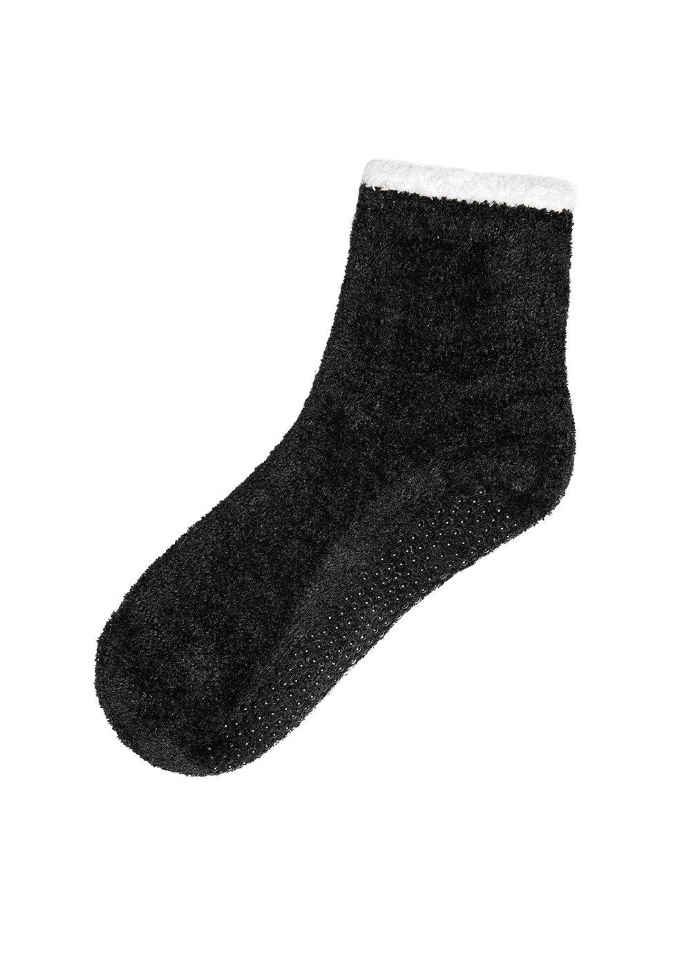 resm Cozy Boots Çorap - SİYAH