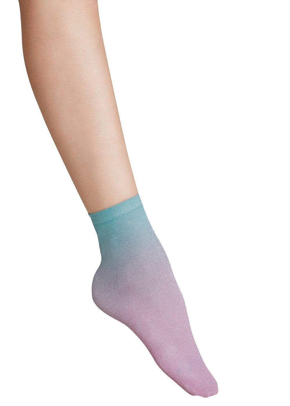 resm Shinny Soket Çorap - GÖKKUŞAĞI