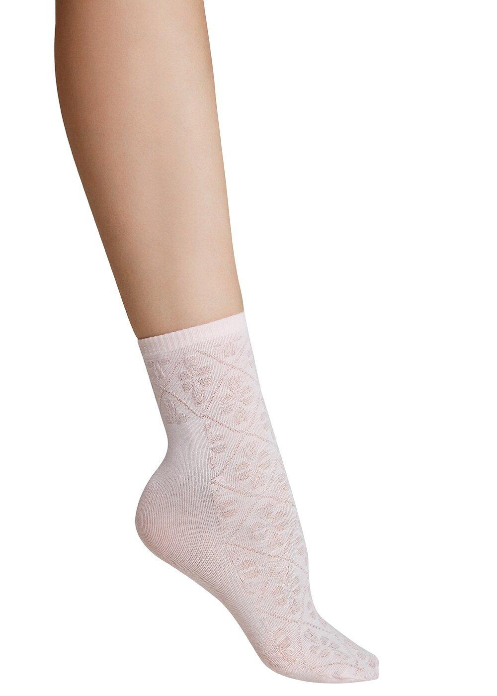 resm Ajur Soket Çorap - AÇIK PEMBE
