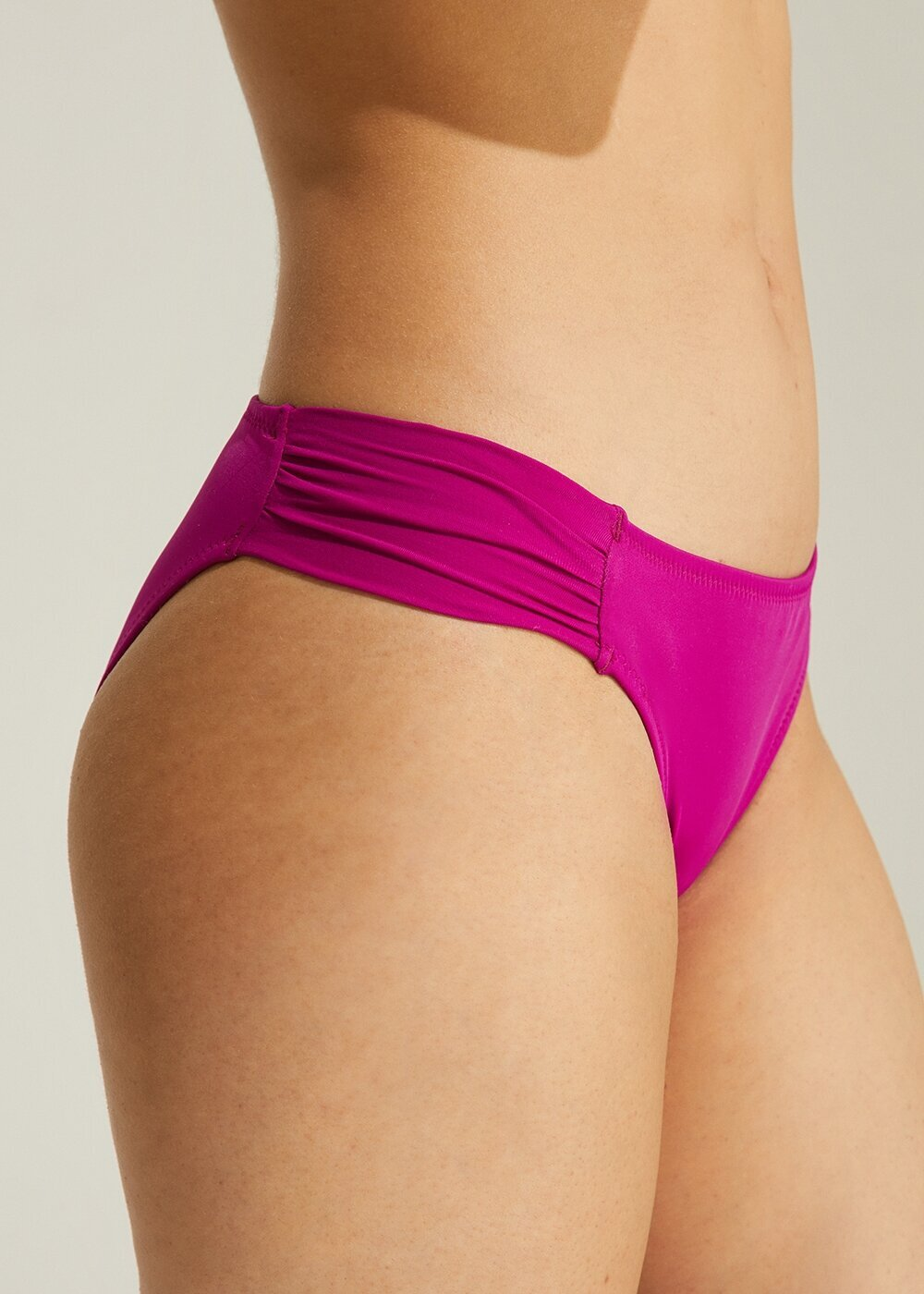 resm Yanı Pileli Bikini Alt - SİKLAMEN