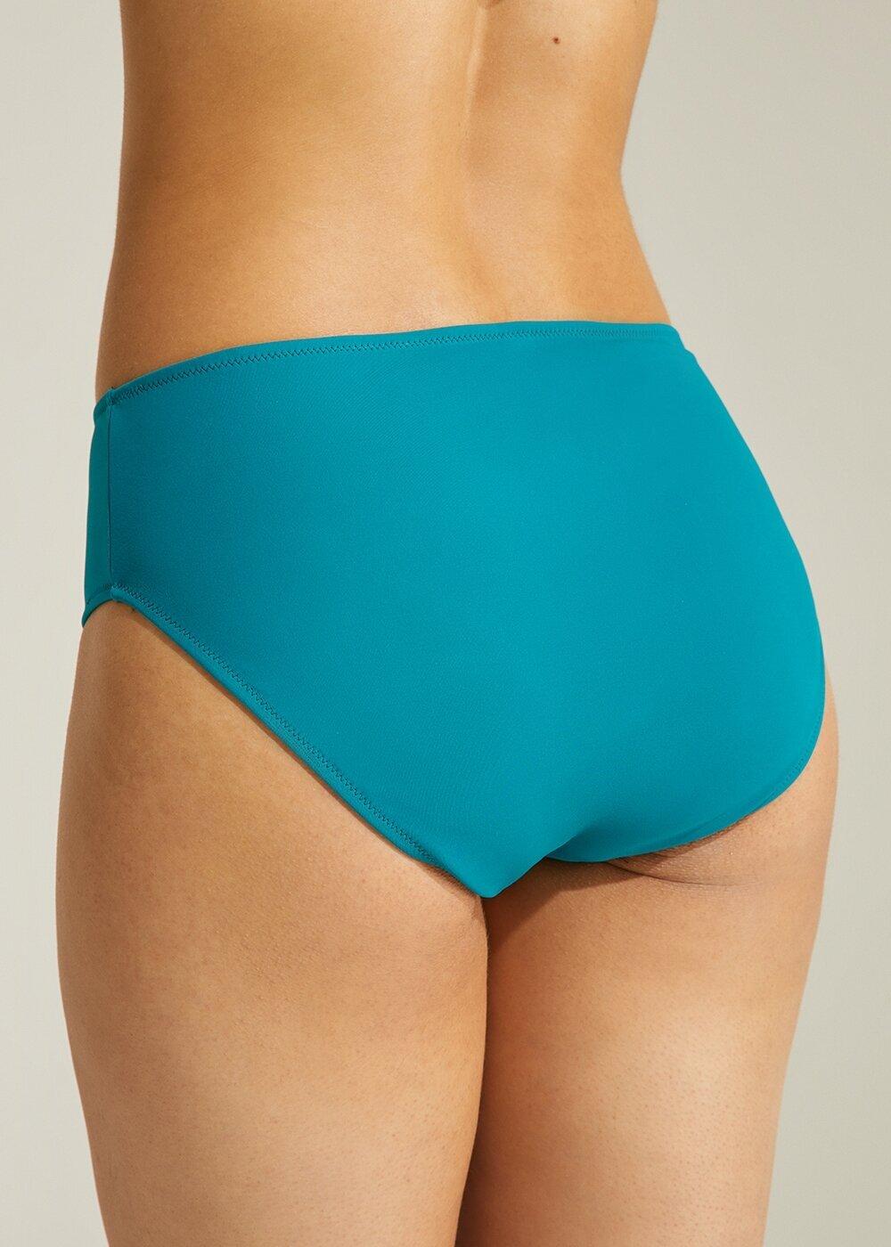 resm Midi Bel Bikini Alt - YEŞİL
