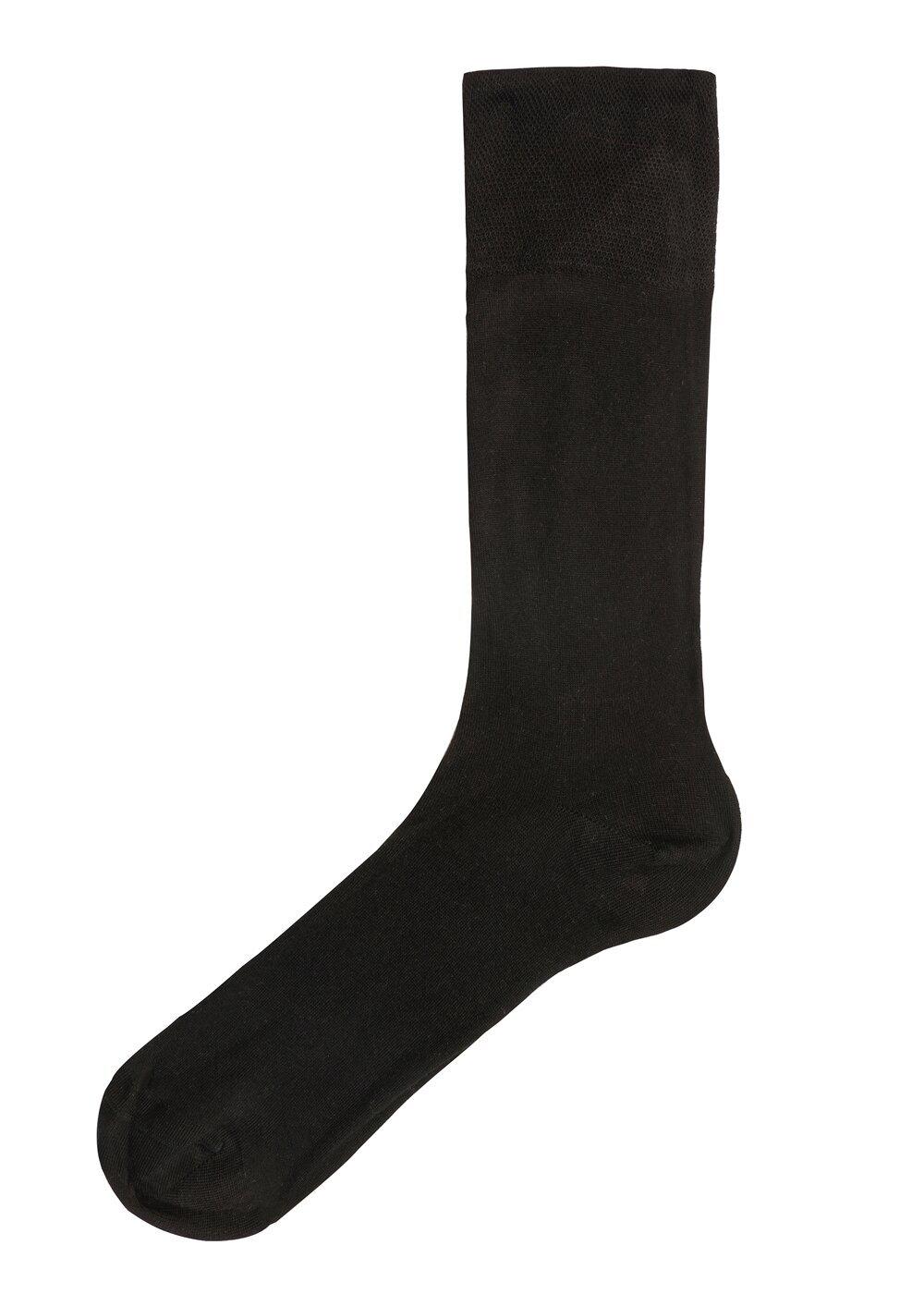 resm Erkek Bambu Çorap - SİYAH