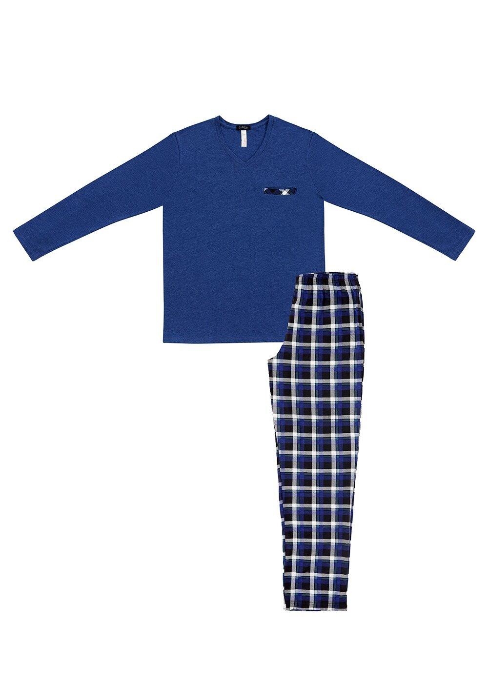 resm Blue Shade Pijama Takımı - MAVİLİ