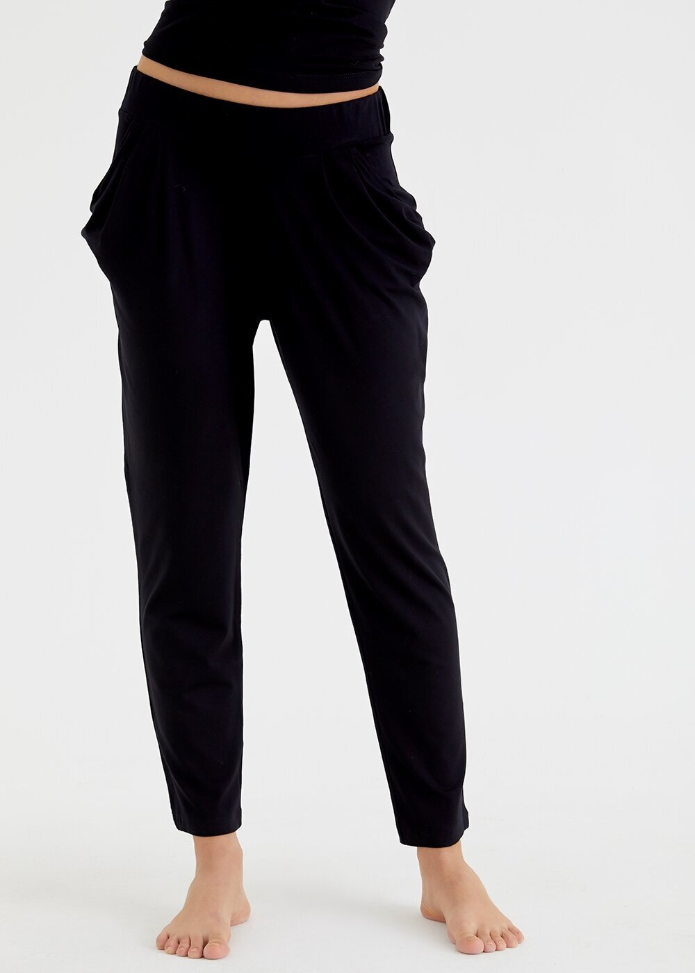 resm Scarlet Tek Pantolon - SİYAH