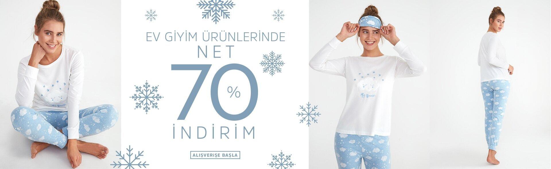 Suwen Ev Giyim Ürünlerinde NET % 70 İndirim