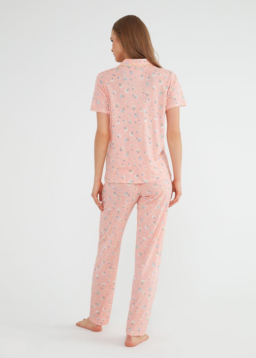 resm Elsa Maskulen Pijama Takımı - PEMBE