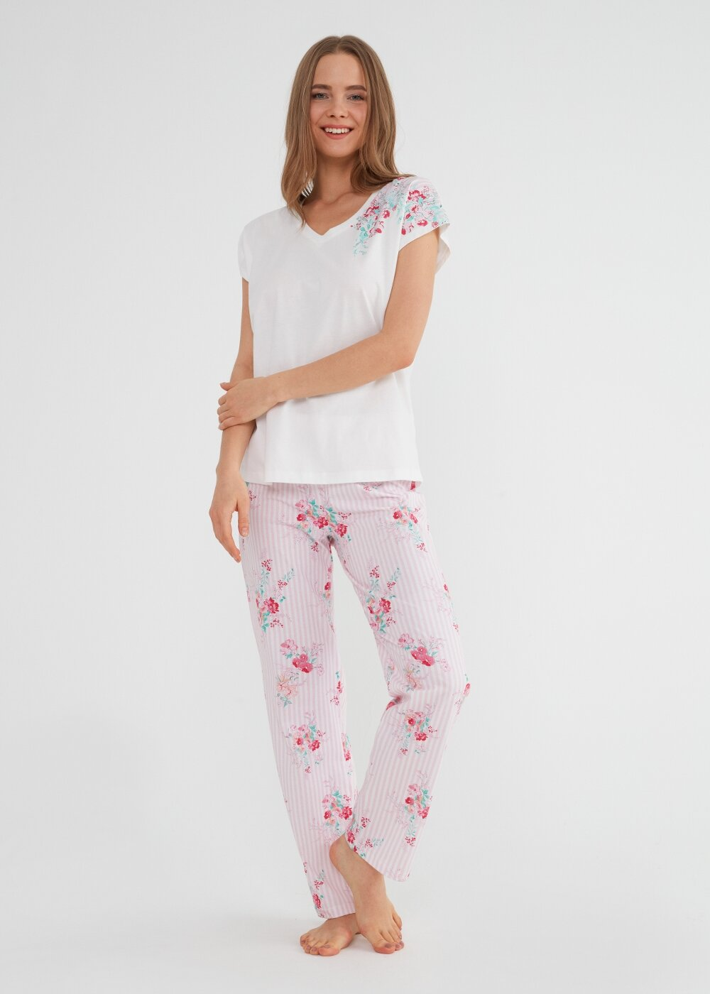 resm Martina Pijama Takımı - PEMBE