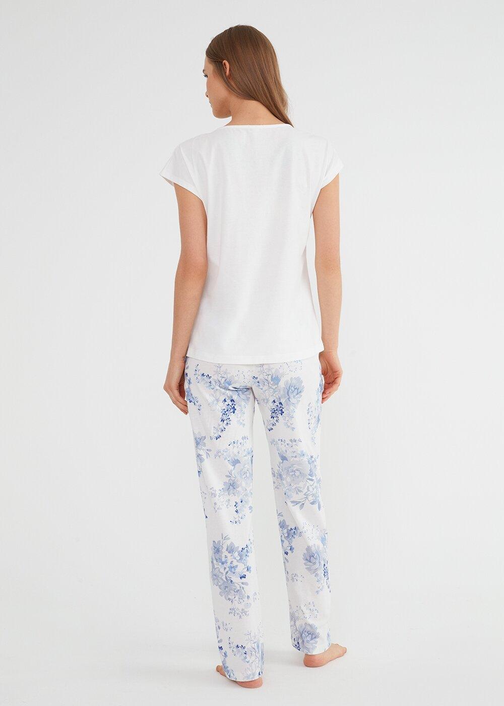 resm Alice Pijama Takımı - MAVİ