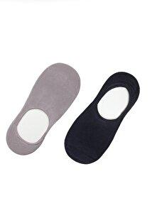 resm 2 li Paket Erkek Çorabı - KOYU MAVİ/GRİ