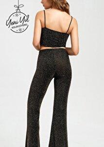 resm Yeni Yıl - Diamond Fashion Pantolon - GOLD LUREX