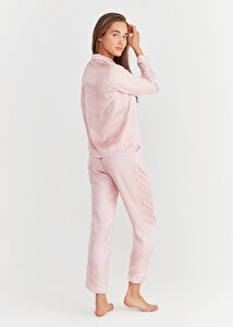 resm New Elite Maskulen Pijama Takımı - PEMBE