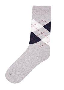 resm Erkek Oxford Soket Çorap - GRİ