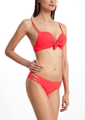 Resim Üç Şeritli Bikini Alt  - TURUNCU