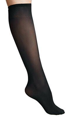 Resim Knee High Çorap - SİYAH