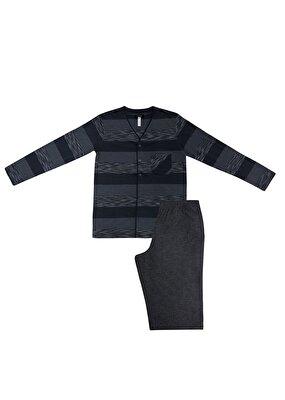 Resim Groom Maskulen Pijama Takımı - GRİ