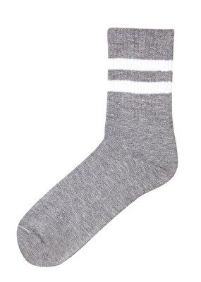 Resim Cool Soket Çorap - GRİLİ