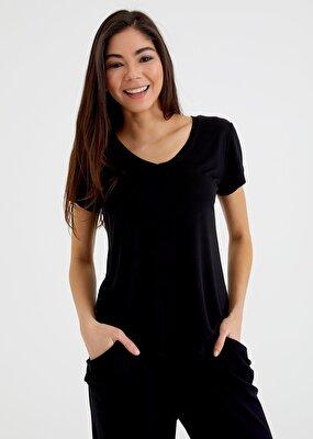 Resim Scarlet T-Shirt - SİYAH