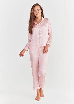 Resim New Elite Maskulen Pijama Takımı - PEMBE