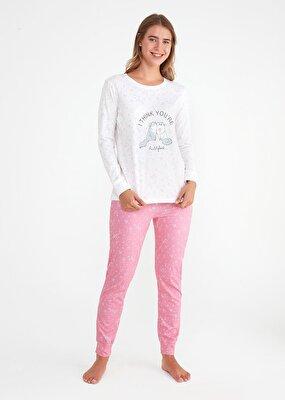 Resim Bella Spor Pijama Takımı - PEMBE