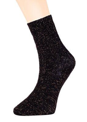 Resim Copper Soket Çorap - SİYAH