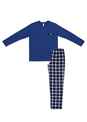 Resim Blue Shade Pijama Takımı - MAVİLİ