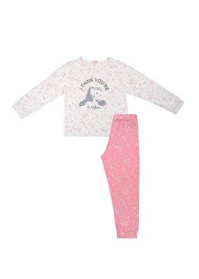 Resim Bella Çocuk Spor Pijama Takımı - LYRA DESENLİ