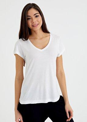 Resim Scarlet T-Shirt - EKRU