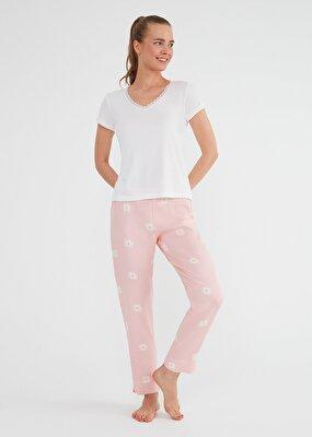 Resim Daisy Pijama Takımı - PEMBE