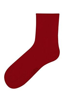 Resim Lady Daily Comfort Çorap - KIRMIZI
