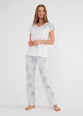 Resim Martina Pijama Takımı - MINT
