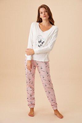 Resim Enjoy Pijama Takımı - PEMBE
