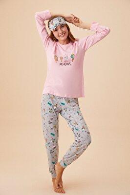 Resim Bella Pijama Takımı - SWEET