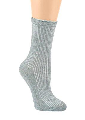 Resim Liny Soket Çorap - YEŞİL
